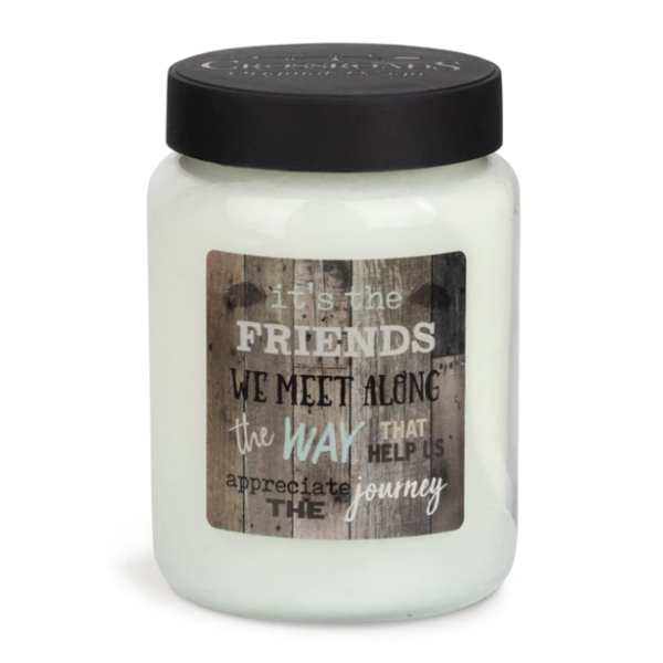 CROSSROADS CANDLE 2 Docht ARTWORK Duftkerze FRESH LINEN 737g
