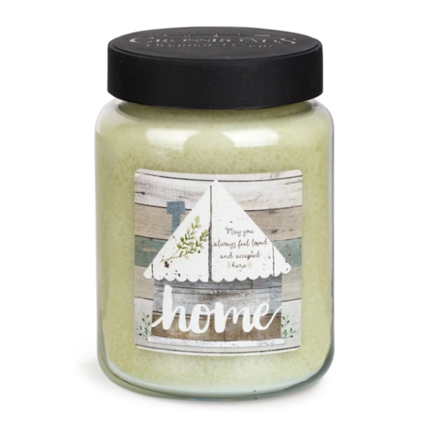 CROSSROADS CANDLE 2 Docht ARTWORK Duftkerze BASIL & LIME 737g
